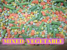 2015 Chinese New Crop high quality grade A low price China IQF FROZEN Mixed Vegetable