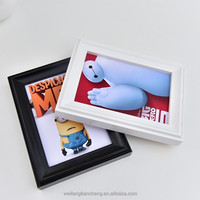 Grade One Price Picture Frame for Home Decoration/Pine Wood Photo Frame From Factory
