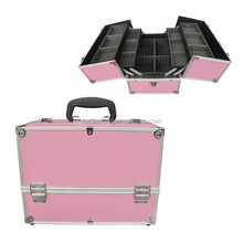 Aluminum PINK box makeup vanity case from ruizheng supplier RZ-LCO193