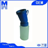 Molded-in Hook Type Teat Cup , Milking Machine Spare Parts Non-Return Teat Dipper