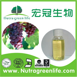 100% Base Cold Pressed Extract Virgin Organic Grape Seed Oil
