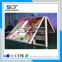 SLT waterproof RGB latest dip p10 outdoor double sided led sign