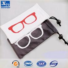 Print Logo Sunglasses Drawstring Carry Bag