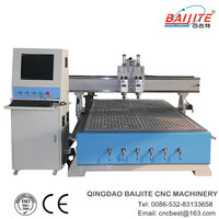 mdf cutting cnc machine\two head\factory price\high precision\CE&ISO9001