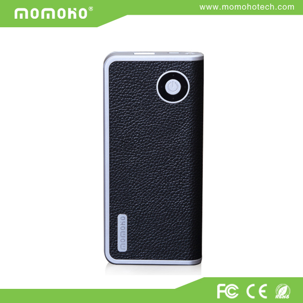 Imported Italian PU leather cover for iPhone, iPad rechargeable travel power charger