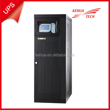 low frequency 30KVA 3/1 phase UPS with external battery pack