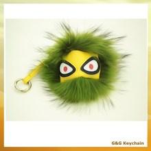 Little Monster Face Plush Hanging Pendant for Lady Bag BA 018