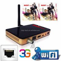 south america IKS&SKS receptor open nagra3 satellite receiver full hd 1080p GPRS with sim card , lan,usb wifi, 3g with IPTV