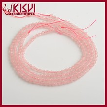 China wholesale cheap pink semi-finished product 3mm faceted beads