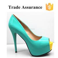 High heel platform shoes for women
