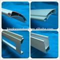 alumínio Portas de aço de enrolar extrusão ripas de estores exteriores
