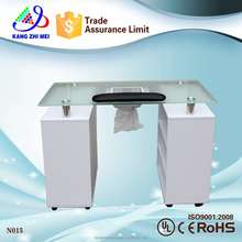 Modern style nail manicure table with nail dust collector (N015)
