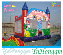 Digital Painting Castle Inflatable Bouncer for Sale