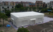 giant inflatable tent / inflatalbe dome cube white ohouse tent