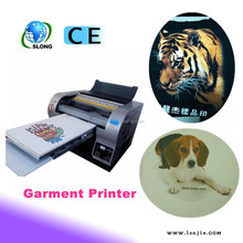 Lasting Working CISS Directly Print Garment Printer Machine Inkjet T-shirt Printer
