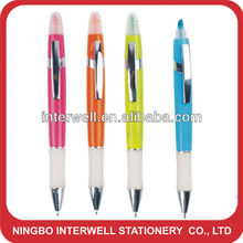 Promotional New ball pen with highlighter