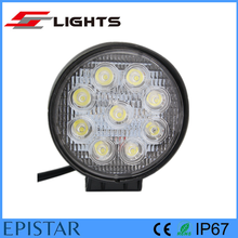Trunk ATV Offroad 27W Round led work light