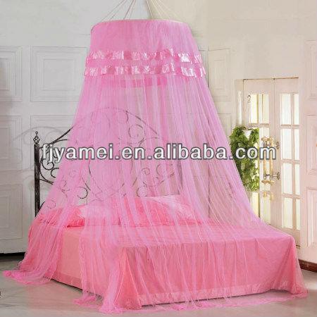 Princesa cama net pendurado mosquiteiro para a menina - Como hacer un pabellon para cama ...