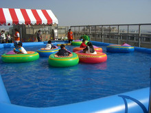 2015 summer Children favorite entertainment and games beautiful inflatable adult swimming pool