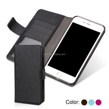 Universal booklet phone case for all main models for iphone 6
