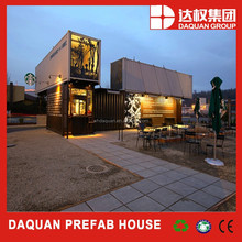 Wu han daquan brand Economic villa modular house prefab home prefabricated house luxury container house with ce,iso