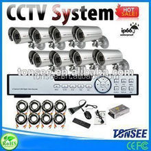 4CH CCTV System Kit 720P/960H Recording Home Security DVR 720p ahd dome camera professional security system
