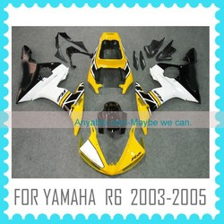 Quality ABS motorcycle Fairing for YAMAHA R6 2003-2005 racing motor fairing