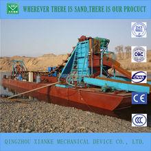 100cbm/h river sand gold bucket chain panning dredging equipment
