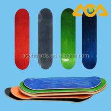 Canadian Maple 7 Ply Blank Skateboard Decks Blanks