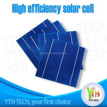 wholesale price and High Efficiency 6 inch max power 4.3W polycrystalline Silicon Solar Cells