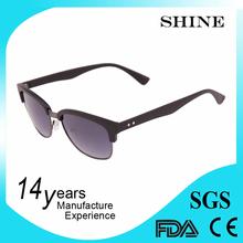 cheap retro fashion custom logo clubmaster sunglasses 2015 with UV400 offer original rb brand