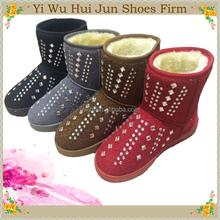 2015 Women Snow Boots Fancy Rain Boots