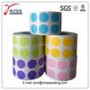 custom self adhesive colorful dot sticker