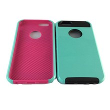 newest colorful phone cover football pattern PC+TPU hybrid phone case for iphone 5s
