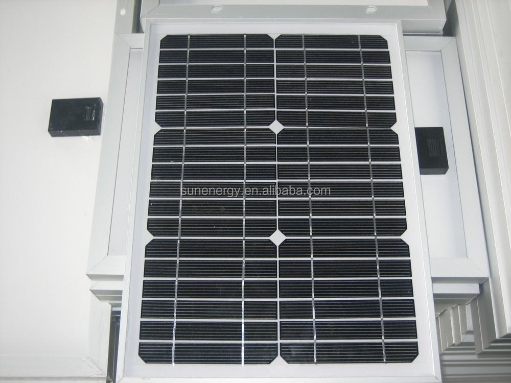 10 w mono petite taille panneau solaire pour appareil. Black Bedroom Furniture Sets. Home Design Ideas