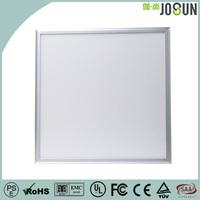 Ultra Thin Silver Frame Led Ceiling Panel Light CE RoHS PSE FCC Approved Led Panel Light