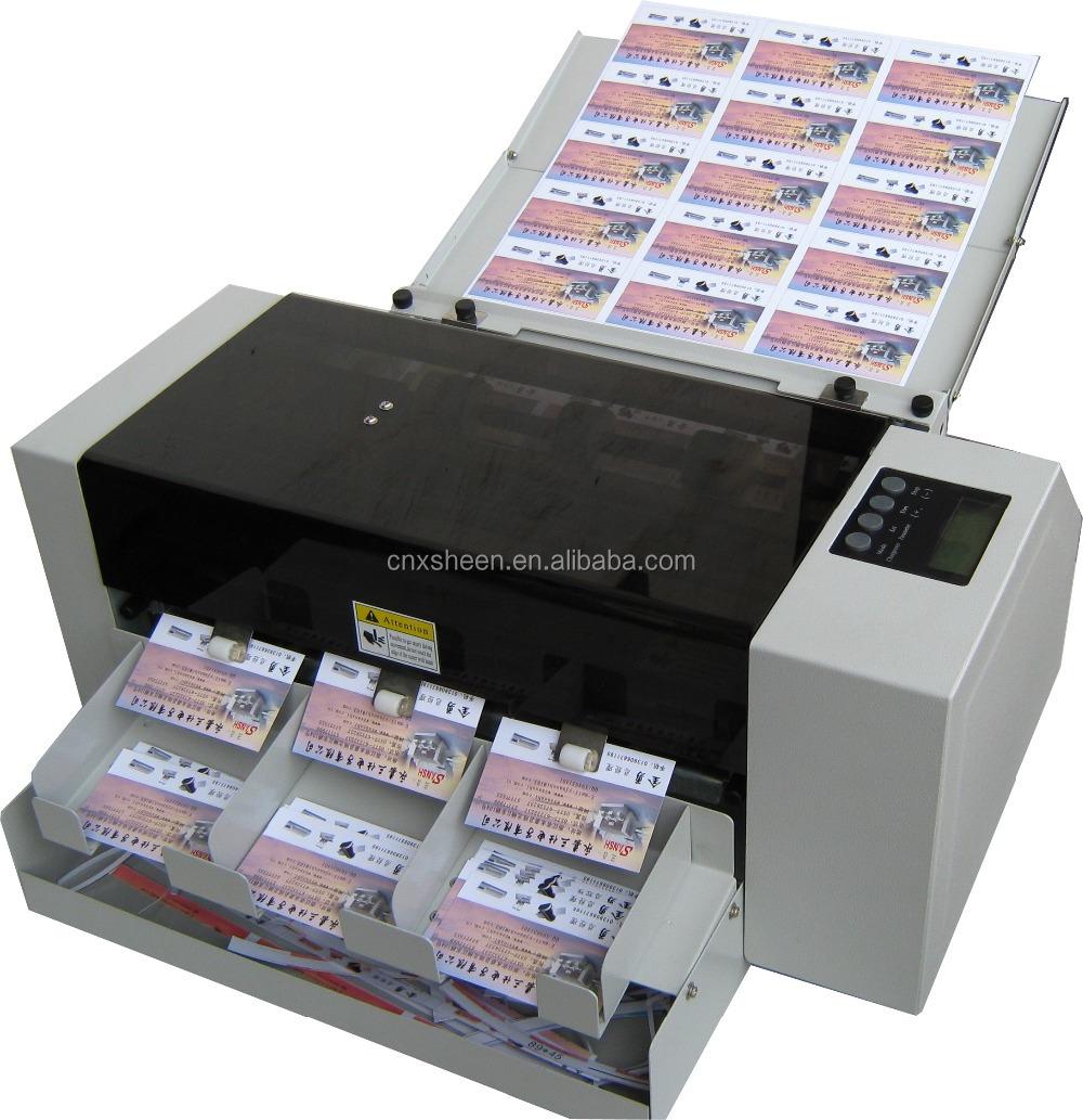 Business card die cutting machinephoto cutter machineid card business card cutterg reheart Images