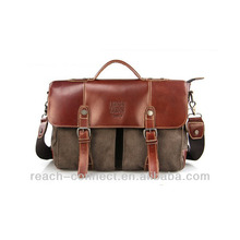 Old fashion cheap messenger bags for buisiness men italian leather bag