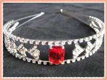 silver headband,crystal headband,rhinestone headband