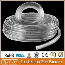UK USA FDA Medical Food Grade 1.5mm I.D. x 3mm O.D. CLEAR UNREINFORCED PVC TUBING, Plastic Transparent Hose, PVC Clear Tube