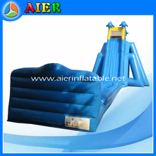 longer size hippo inflatable water slide, summer season inflatable hippo water slide, hot sales hippo water slide