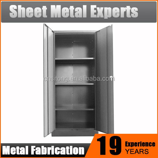 Best Selling Durable Simple Kd Structure Steel 2 Doors