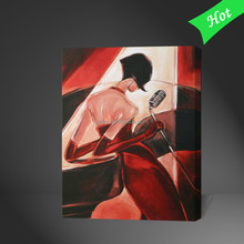 New Products 2015 Stretched Canvas Bar Club Interior decor,bar woman Oil Painting,bar Scenes Oil Painting( Buy Direct China )