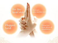 The natural moisturizing ingredient gives your hand skin plenty of moisture.