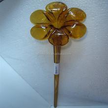 popular murano glass flower craft ornament YK-G64