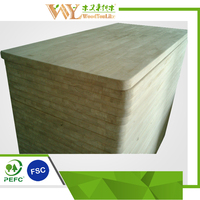 Rubberwood Finger Jointed board, Made in Shanghai