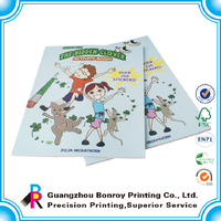 Custom new design fashion softcover blank drawing books