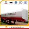 oil tanker semi trailer 42000liters,oil transportation tank trailer 3 axles,fuel truck trailer