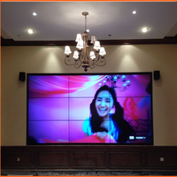 High quality with 55 inch with LG DID screen full HD 4K resolution lcd splicing video wall