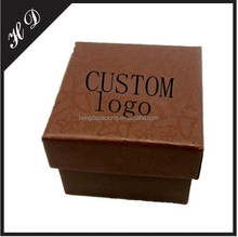 Brown jewelry box for ring